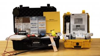Kit de inspección de Recubrimientos para la industria marina