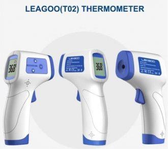 Termómetro Digital Infrarrojo Especialmente Diseñado para Temperatura Corporal LEAGOO T02