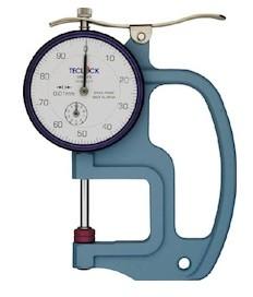 Medidor de espesor tipo plano Teclock SM-112